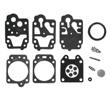 Kawasaki TH26, TH26L, TH34 Brush Cutter Carburettor Gasket, Diaphragm, Needle, Repair Kit Set Parts